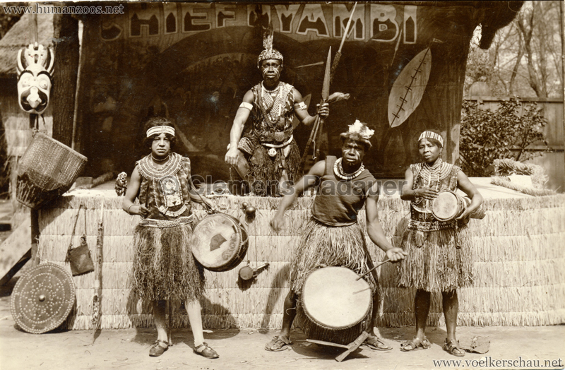 1937 Exposition Internationale Paris - Chief NYAMBI